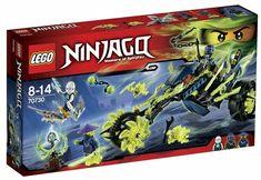 blue face Lego SWORDSMAN Minifigure NINJAGO from set 70502 70504 70505