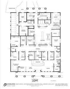 Dog Boarding Kennel Plans | June 2012—Antioch Veterinary Hospital; Antioch, Calif.