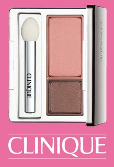 Get in a Valentine's state of mind with NEW Clinique All About Shadow Duo in Strawberry Fudge.