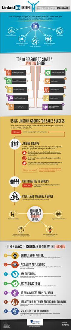 #LinkedIn #Groups your secret weapon for sales success.