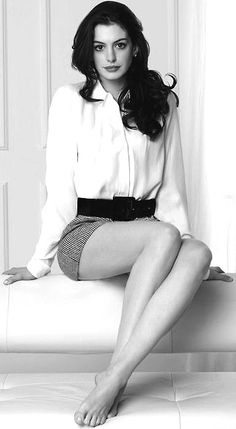 Anne Hathaway, another talented and beautiful actress, who's played some unbelievable parts