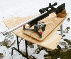 The Homestead Survival | 14 Different Free DIY Design Plans For Shooting Benches | http://thehomesteadsurvival.com
