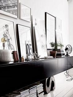 BINNENKIJKEN. Monochroom design met jaren vijftig-toets