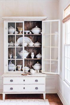 A china cabinet that trumps all china cabinets | Design: Jean Liu | lark & linen