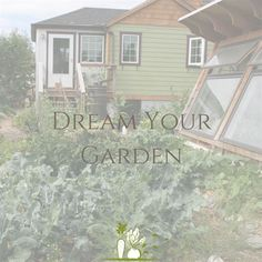 Join me while I visualize my garden, gaining useful insights for the coming growing season.