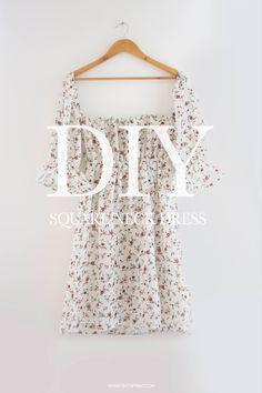 Dress Sewing Tutorials, Dress Sewing Patterns, Sewing Patterns Free, Clothing Patterns, Fashion Patterns, Vogue Patterns, Vintage Patterns, Diy Clothes Design, Diy Clothes Tops