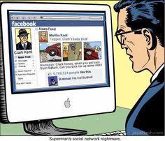 El Facebook de Superman.