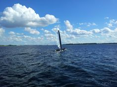 LightFighter sailing in Frederikssund, Denmark - Beach Cats World Network