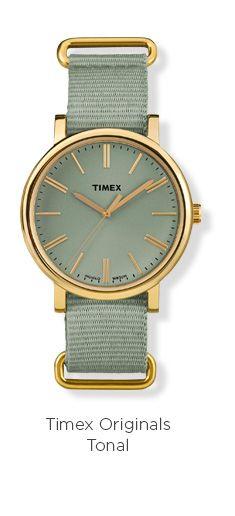 adbf4bcf5852 Timex Originals Watch with NATO Nylon strap - Rose Gold Gray
