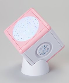 Another great find on #zulily! Pink Lullaby Light Cube by Lullaby Light Cube #zulilyfinds