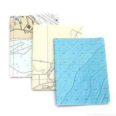 Nautical Chart Notebooks