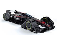 これぞ未来のF1マシン? マクラーレンが『MP4-X』コンセプト発表。運転席にキャノピー採用 - Engadget Japanese