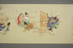 Batalha de Bufas - por artista desconhecido, período Edo, Japão
