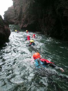 coasteering Scotland - Buscar con Google Outdoor Activities, Scotland, Water, Google, Gripe Water, Field Day Activities, Aqua