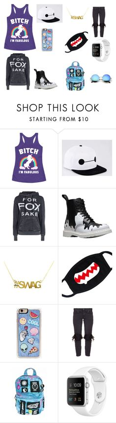 """IM SO FAB!"" by scorpio-queen ❤ liked on Polyvore featuring Wildfox, Dr. Martens, Zero Gravity, OneTeaspoon and Current Mood"
