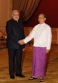 PM's meeting with Myanmar President U Thein Sein