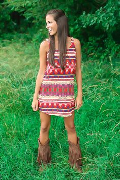 What a cute dress!!! Love Red Dress Boutique! ❤️