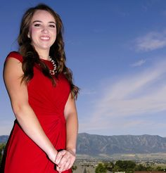 Providence, Utah, teen Emilee Hamilton is one of 20 students nationwide to receive the GE Reagan Foundation Scholarship worth $40,000 in total. (Portrait by Eli Lucero)