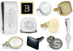 Harry Houdini Magician Stamp Cufflinks