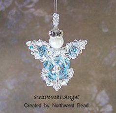 beaded angel ornament instructions