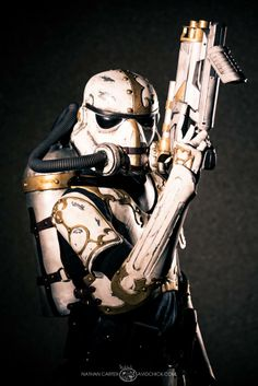 Steampunk Stormtrooper #DragonCon2013 is it bad that I think its kinda sexy?