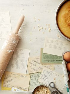 Reminds me of my Mum's, her mum's, and her grandmother's recipe cards and books. Baking / Image via: Seth Smoot Old Recipes, Vintage Recipes, Family Recipes, Jelly Recipes, Food Photography Styling, Food Styling, Cooking Photography, Tips & Tricks, Recipe Cards