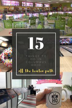 Think you've seen it all in Columbus, Ohio? Go off the beaten path to discover 15 unique things to do in Columbus featuring family-friendly activities and unique eats and treats! Columbus Travel, Columbus Ohio, Stuff To Do, Things To Do, Ro Do, Ice Cream Factory, Green Tea Ice Cream, Candy Factory, The Buckeye State