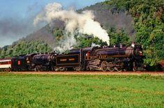 Double Header #flickr #steam #engine