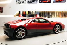 Ferrari SP12 EC - Inspired by his love for the Ferrari 512 BB, legendary musician and Ferrari enthusiast Eric Clapton worked with prancing horse's special projects program and Pininfarina to create the SP12 EC.