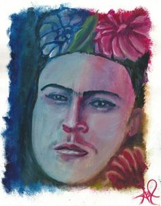 Buy Frida's Flowers, Oil painting by Mando Padilla on Artfinder. Discover thousands of other original paintings, prints, sculptures and photography from independent artists.