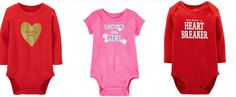 Daddy's Little Girl and/or Mommy's Heart Breaker Adorable Valentine's Day Outfits for your Baby