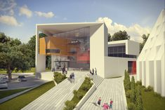 Gallery of Auerbach Halevy Wins Competition to Design Jewish Sports Museum in Ramat Gan - 1