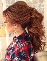 1000+ ideas about Wedding Ponytail Hairstyles on Pinterest ...