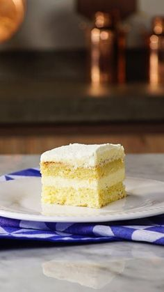 For a cake that's uber moist and rich, it's hard to beat this milk cake made with, you guessed it, three different types of milk.