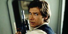 Han Solo en (Harrison Ford) en'Star Wars'