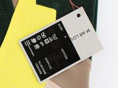 STTADA DESIGN. Graphic identity for the dutch fashion designer Marlou Verheijden.