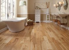 """Kitchen/Family Room Virginia Mill Works Natural 3/4""""x4 3/4"""" Birch Betula Spp. 1260 Stained Finish Solid"""