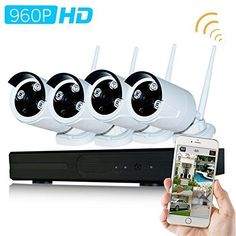 Special Offers - Wavetown 4CH 960p NVR Wifi CCTV Surveillance System with 4x960p HD Night Vision Outdoor IP Camera Support Smartphone Remote NO HDD - In stock & Free Shipping. You can save more money! Check It (June 17 2016 at 06:03AM) >> http://smokealarmusa.net/wavetown-4ch-960p-nvr-wifi-cctv-surveillance-system-with-4x960p-hd-night-vision-outdoor-ip-camera-support-smartphone-remote-no-hdd/
