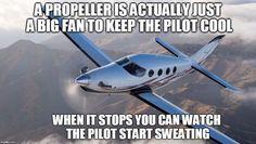 Seems legit... Tag a friend! Follow us @i.smolar Credit : ( @9gag ) #ismolar #lol #meme #funny #fun #meme #memesdaily #memesdaily #memecreator #9gag #dank #dankmeme #hilarious #2017 #haha #wrecked #nochill #comic #comedy #rage #fail #pilot #airplane #propeller #sweating