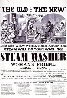The Steam Washer or Woman's Friend