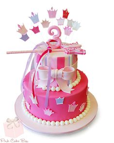 Princess Birthday Cake by Pink Cake Box in Denville, NJ.
