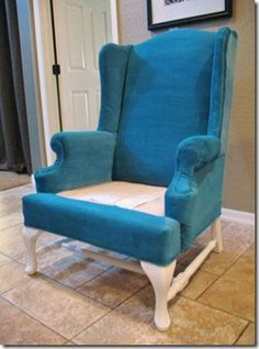 Painted Upholstery – The Process Revealed (Tutorial)