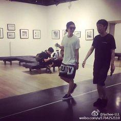無理難題とスタバ☆ルハン 150811 鹿晗工作室 Weibo の画像 ルハンとEXOを愛でる☆