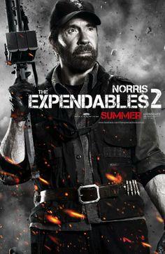 Titel: The Expendables 2  Namen: Chuck Norris
