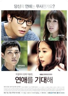 """☀ """"HOPE FOR DATING"""" (aka Anticipate Love) ~ Synopsis: ~ Synopsis: A drama about love and relationships, centers on a college student Joo Yeon-Ae who′s actually a novice in relationships, and always fails at getting her man. Meanwhile, Cha Gi-Dae is a skilled dating coach expert. He comes to coach Yeon Ae over SNS, but despite the experience he boasts about, however, he also always fails at getting his own girl. 