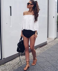 Summer outfits for teenage girl | Summer outfits with shorts