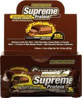 Whey Isolate, Candy Companies, Small Bars, Candy Bars, Protein Bars, Chocolate Peanut Butter, Supreme, Nutrition, Canada