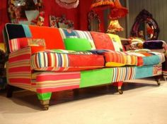 Modern Furniture Colorful Sofas by squintlimited