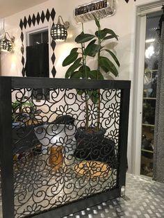 猫よけマットでパーテーションを簡単diy
