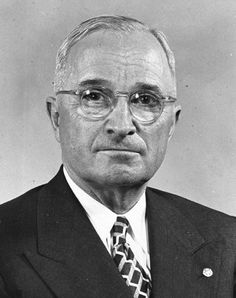 Here President Truman is wearing his Order of the Eastern Star lapel pin. His wife Bess was also a member of the Order of the Eastern Star.